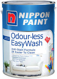 nippon paint odourless easywash 1l 1323 colours interior