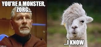 Fifth Element Meme - zorg and cornelius emo llama fifth element lookalike meme the
