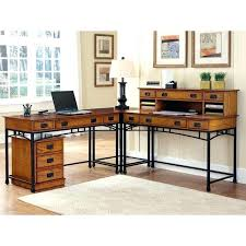 L Shaped Desk Modern Corner Shaped Desk Home Styles Modern Craftsman Corner L Shaped
