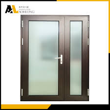 Frosted Glass Bathroom Doors by Bathroom Aluminum Frame Frosted Glass Bathroom Doorglass