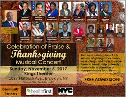 11 5 event celebration of praise and thanksgiving musical concert