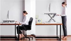 Sit Stand Desk Flexispot Sit Stand Desktop Improvised