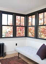 Old Homes With Modern Interiors Keeping Things Exciting Black Two Over One Windows Are An
