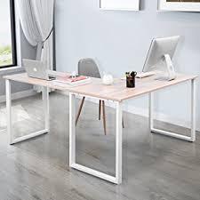 Corner Laptop Desks For Home Merax L Shaped Office Workstation Computer Desk Corner
