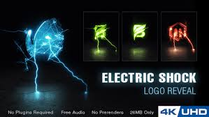 electric shock logo reveal u2013 free after effects template share ae