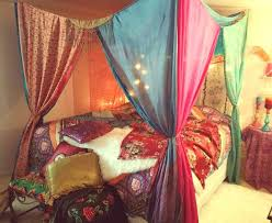 Bohemian Bed Canopy Bohemian Bedroom Canopy Stylish Bohemian Bed Canopy With Bed