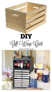 gift wrap cart diy gift wrap cart gift organizing and craft