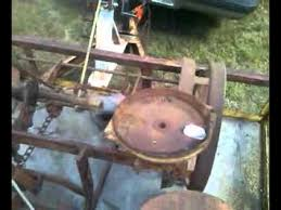 2 Row Corn Planter by Allis Chalmers Wd Mounted 2 Row Corn Planter Youtube
