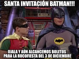 Memes De Batman Y Robin - santa invitaci祿n batman batman y robin meme on memegen