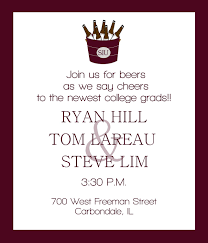 graduation announcements wording graduate invites college graduation party invitation
