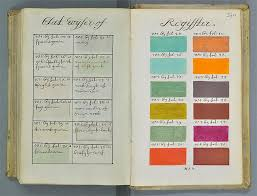 this hand painted manuscript was 271 years ahead of the pantone
