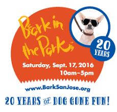 bark in the park san jose celebrates 20 years of doggone in