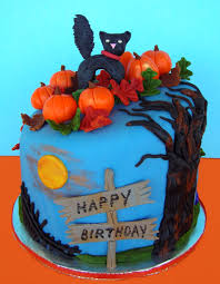 birthday halloween birthday cake for my niece halloween my cakes pinterest