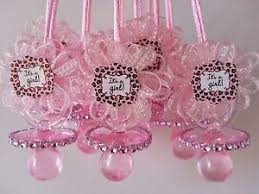 baby shower pacifiers 12 pink pacifier necklaces it s a girl baby shower prizes