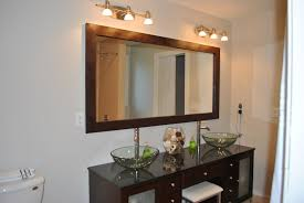 diy bathroom mirror frame ideas diy bathroom mirror frame home design ideas