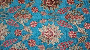 Velvet Chenille Upholstery Fabric Meter Yard Chenille Ethnic Tribal Style Chenille Upholstery