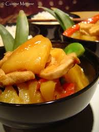 cuisine metisse poulet à l ananas ôde à toi mon solide et fidèle wok cuisine