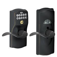 schlage z wave home keypad lever works with amazon alexa via