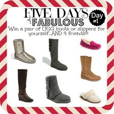 ugg slippers cyber monday sale five days of fabulous day 1 ugg giveaway and cyber monday best