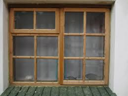 Window Framing Diagram Classic Wooden Window Frames Painted Naturally With Light Brown
