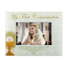 my communion communion glass photo frame 4 pk