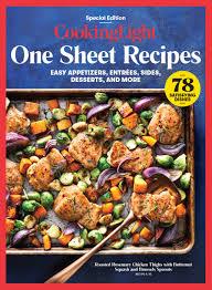 cooking light vegan recipes light one sheet recipes