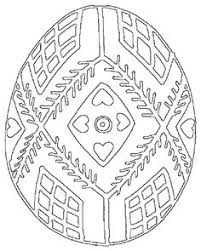 pysanky egg coloring page free coloring pages pysanky google search egg designs