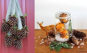 Natural Christmas Decorations The Most Beautiful Natural Christmas Decorations 16 Craft Ideas