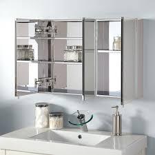 Mirrored Bathrooms Silver Mirrored Bathroom Cabinet Bathroom Mirrors