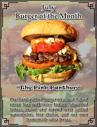 beef of the month welcome to the cool cat cafe home of the best burger on san