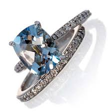 aquamarine wedding rings aquamarine wedding ring sets lovely rings