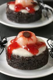 bloody eyeball brownies paleo gluten free texanerin baking