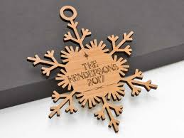 custom name snowflake ornament 04 personalized wayvdesigns