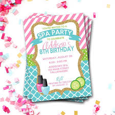the 25 best spa party invitations ideas on pinterest nail