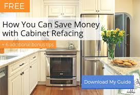 Refinish Kitchen Cabinets Cost How Much Does Refacing Kitchen Cabinets Cost