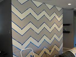 diy painted chevron wall im crafty and i know it
