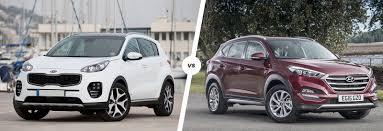nissan qashqai or kia sportage kia sportage vs hyundai tucson comparison carwow