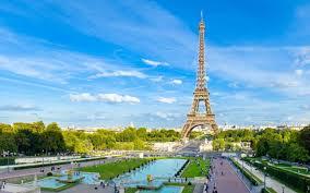 French Flag Eiffel Tower Beautiful Symbol Of France The Eiffel Tower