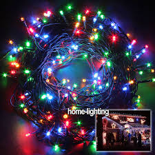 drop down christmas lights 200 300 400 leds green cable string fairy lights outside xmas garden