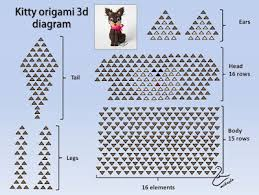 3d origami beginner tutorial 3d origami instructions best 25 3d origami tutorial ideas on 3d