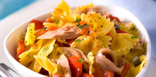 poivron cuisine salade de pâtes au poivron et au thon facile et pas cher