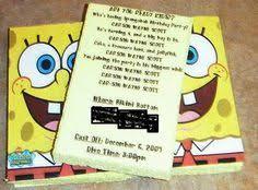 2 free printable spongebob party invitations let u0027s party