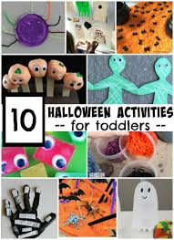 halloween activities for toddlers simple play ideas