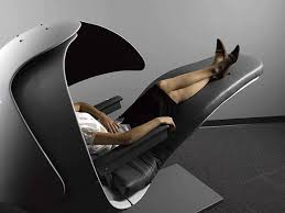Bizarre Energy Pod That Keeps Googlers Refreshed - Designer reclining chairs