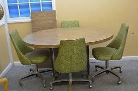 chromcraft table and chairs mid century chromcraft swivel bar stools pair bar stool mid