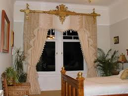 Small Bedroom Window Treatment Ideas Accessories Incredible Victorian Style Window Curtain With Golden