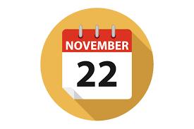 vector calendar thanksgiving day 2018 ccpixs