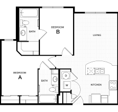 Bedroom Floorplan by Professional Apartment Floorplans Douglas Heights