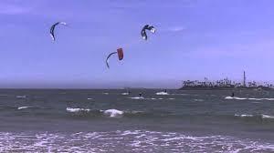 Long Beach California Map Kite Surfing In Long Beach Ca Mov Youtube