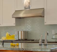 kitchen backsplash contemporary glass tiles for backsplash white
